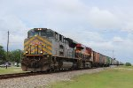 "KCS 4003 ""gray ACe"" leads a SB grain train"